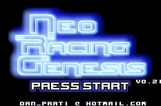 Thumbnail 1 for Neo Racing Genesis v0.21 DEMO